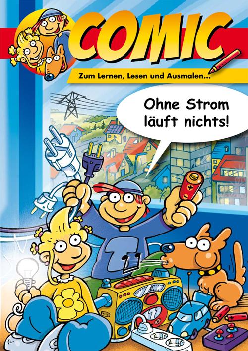 energie für kids  ewr ag ~ Wasserhahn Comic